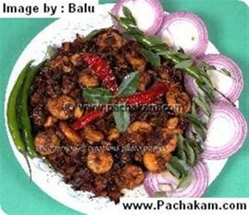 Stir Fried Prawns | Pachakam