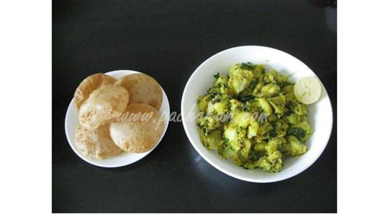 Sukha  Aloo Bhaji (Step By Step Photos) | Pachakam