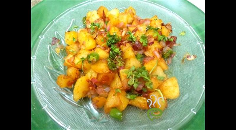Sweet & Sour Aloo Fry