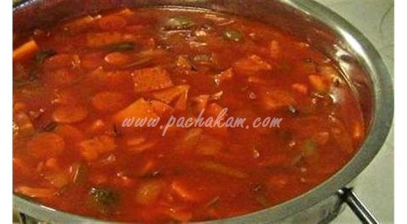 Sweet And Sour Vegetable | Pachakam