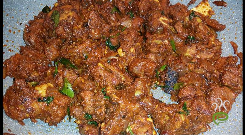Chettinad Mutton Pepper Fry | Pachakam