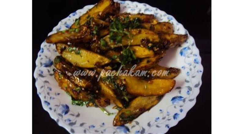 Tasty Chilli Potato | Pachakam
