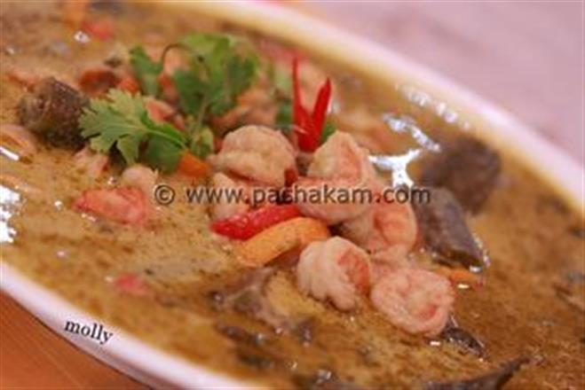 Thai Green Prawn Curry | Pachakam