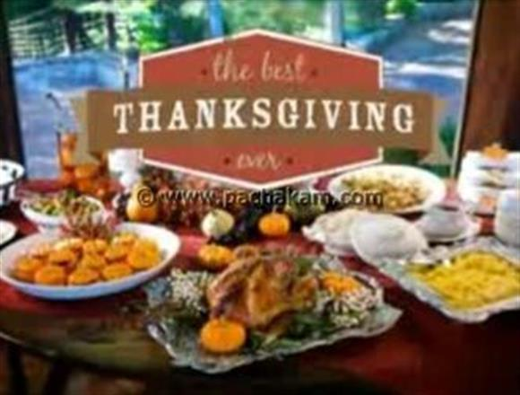 Thanksgiving Day Special Dish
