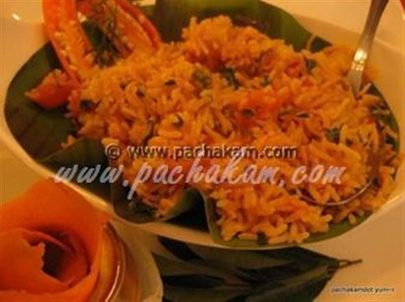 Tomato Rice - Lunch Box Special