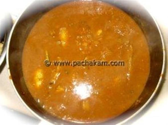Varutharacha Meen Curry (Fish Curry)