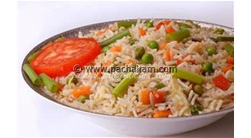 Vegetable Fried Rice - Healthy
