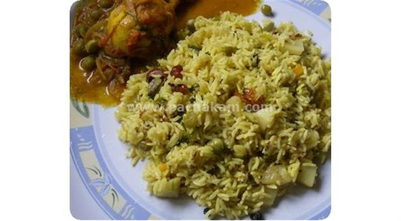 Vegetable Pulao - Kids Favourite