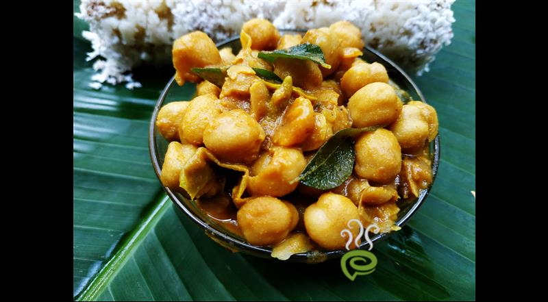 Vella Kadala Curry |-White Kadala Curry Kerala Style - Chana Masala | Pachakam