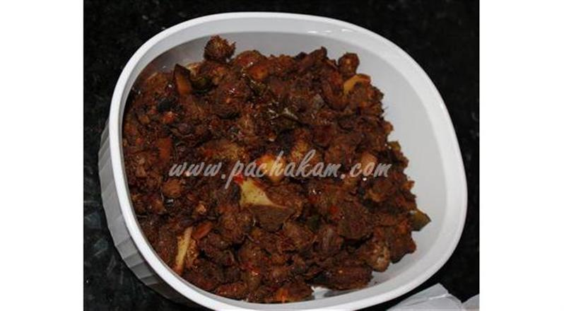 Kerala Pepper Mutton Chilly Fry | Pachakam