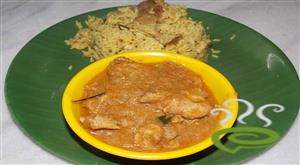 Chicken gravy for biriyani