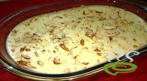 Apple Cream Pudding