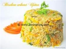 Broken-Wheat-Upma-Diabetes-Friendly