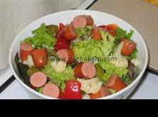 Chicken-Sausage-Salad