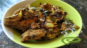 Chicken Pot Fry-Simple Chicken Fry