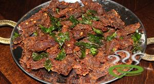 Chilly Beef - Beef Dry Fry (BDF) Palakkad Style With Video