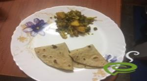 Dry Broccoli Aloo And Matar Vegetable