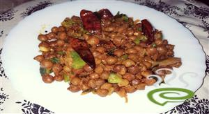Kadala Roast -Spiced Chana Roast