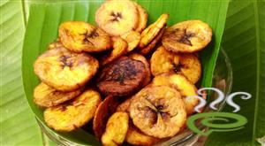 Kids Special Netra Pazham Chips-Ripe Plantain Chips-Homemade Recipe