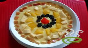 Mahalabi With Fruits-A Middle Eastern Dessert