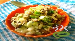 Paleo Diet Mushroom Bell Pepper Cheese Salad