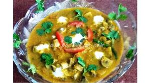 North-Indian-Easy-Mushroom-curry