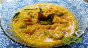 Pavakka Papal Curry-Bitter Gourd Curry With Coconut Milk