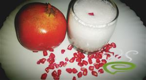 Pomegranate Milkshake