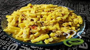 Simple Egg Macaroni-Peppery  Scrambled Macaroni And Egg