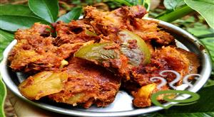 Sun Dried Mango Pickle