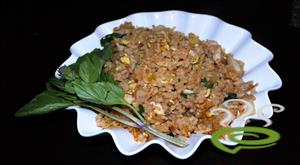 Thai Basil Chicken Fried Rice Video