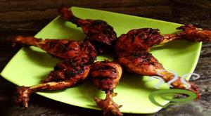 Spicy drumstick chicken fry